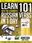 Learn 101 Russian Verbs in 1 Day with the Learnbots : Fun and Easy Way to Learn Verbs - Book