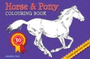 Horse and Pony Colouring Book - Book