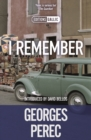 I Remember - eBook