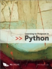 Learning to Program in Python - Book