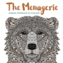 The Menagerie : Animal Portraits to Colour - Book
