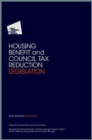 CPAG's Housing Benefit and Council Tax Reduction Legislation : 2018/2019 - Book