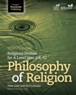 WJEC/Eduqas Religious Studies for A Level Year 2 & A2: Philosophy of Religion - Book