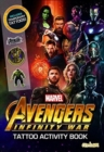 Avengers Infinity War - Tattoo Activity Book - Book