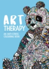 Art Therapy: An Anti-Stress Colouring Book for Adults - Book