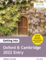 Getting into Oxford and Cambridge 2022 Entry - Book