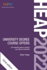 HEAP 2022: University Degree Course Offers - Book