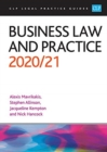 Business Law and Practice 2020/2021 - Book