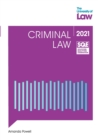 SQE - Criminal Law - Book