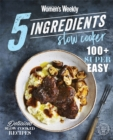5 Ingredients Slow Cooker - Book