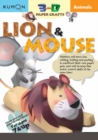 3D Craft: Animals: Lion & Mouse - Book