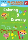 Play and Grow: Coloring & Drawing - Book
