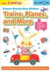 Kumon Step-by-step Stickers: Trains, Planes, And More - Book