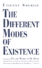 The Different Modes of Existence - Book