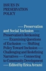 Preservation and Social Inclusion - Book