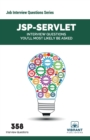 JSP-Servlet : Interview Questions You'll Most Likely Be Asked - Book