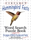 Circle It, Hummingbird Facts, Word Search, Puzzle Book - Book