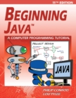 Beginning Java : A JDK 11 Programming Tutorial - Book