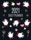 Penguin Daily Planner 2021 : Keep Track of All Your Weekly Appointments! - Cute Large Black Year Agenda Calendar with Monthly Spread Views - Funny Animal Planner & Monthly Scheduler - Arctic Bird Sout - Book