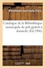 Catalogue de la Biblioth que Municipale de Pr t Gratuit   Domicile - Book