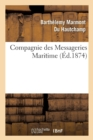 Compagnie des Messageries Maritimes La question du tonnage de capacite des Navires - Book