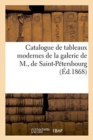 Catalogue de tableaux modernes de la galerie de M., de Saint-Petersbourg - Book