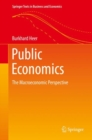 Public Economics : The Macroeconomic Perspective - Book