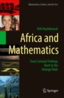 Africa and Mathematics : From Colonial Findings Back to the Ishango Rods - Book