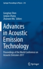 Advances in Acoustic Emission Technology : Proceedings of the World Conference on Acoustic Emission-2017 - Book