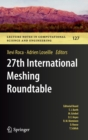 27th International Meshing Roundtable - Book