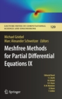 Meshfree Methods for Partial Differential Equations IX - Book