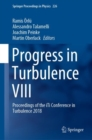 Progress in Turbulence VIII : Proceedings of the iTi Conference in Turbulence 2018 - Book
