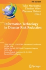 Information Technology in Disaster Risk Reduction : Third IFIP TC 5 DCITDRR International Conference, ITDRR 2018, Held at the 24th IFIP World Computer Congress, WCC 2018, Poznan, Poland, September 20- - Book