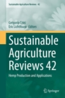 Sustainable Agriculture Reviews 42 : Hemp Production and Applications - eBook