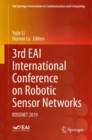 3rd EAI International Conference on Robotic Sensor Networks : ROSENET 2019 - Book