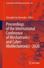 Proceedings of the International Conference of Mechatronics and Cyber- MixMechatronics - 2020 - Book