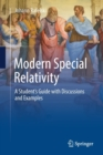 Modern Special Relativity : A Student's Guide with Discussions and Examples - Book