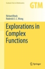 Explorations in Complex Functions - Book