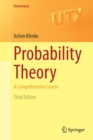 Probability Theory : A Comprehensive Course - Book