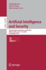 Artificial Intelligence and Security : 6th International Conference, ICAIS 2020, Hohhot, China, July 17-20, 2020, Proceedings, Part I - Book