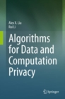 Algorithms for Data and Computation Privacy - eBook