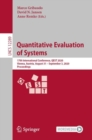 Quantitative Evaluation of Systems : 17th International Conference, QEST 2020, Vienna, Austria, August 31 - September 3, 2020, Proceedings - eBook