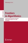 Frontiers in Algorithmics : 14th International Workshop, FAW 2020, Haikou, China, October 19-21, 2020, Proceedings - eBook