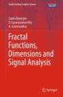 Fractal Functions, Dimensions and Signal Analysis - eBook