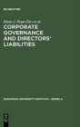 Corporate Governance and Directors' Liabilities : Legal, Economic and Sociological Analyses on Corporate Social Responsibility - Book