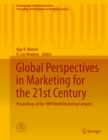 Global Perspectives in Marketing for the 21st Century : Proceedings of the 1999 World Marketing Congress - eBook