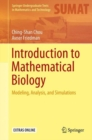 Introduction to Mathematical Biology : Modeling, Analysis, and Simulations - Book