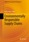 Environmentally Responsible Supply Chains - eBook