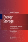 Energy Storage : Fundamentals, Materials and Applications - Book