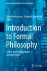Introduction to Formal Philosophy - eBook